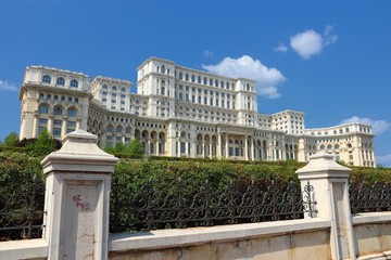 Romania - Bucharest - Parliament Palace