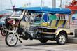 Motor tricycle  tuktuk  in Kho Si Chang Island