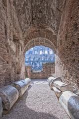 Rome Colosseum Interior 01