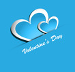 Beautiful Valentines Day colorful heart shape vector design illu
