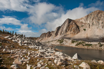 Clearing Storm in the Medicine Bow