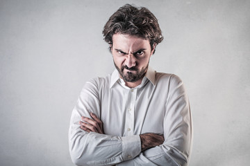 Dissatisfied Man