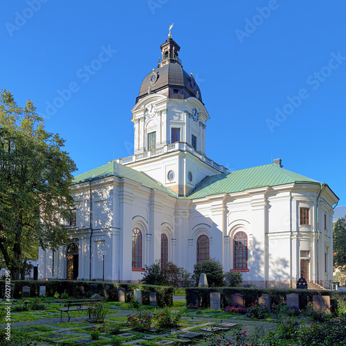 Church of Adolf Frederick in Stockholm, Sweden