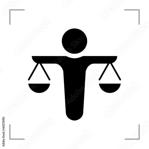 Scale of Justice - Icon