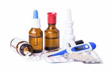 Medikamente - Erkältung - Grippe