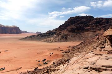 月の谷、ワディラム砂漠