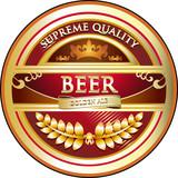 Beer Label Vintage Design