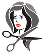 Hairdresser Symbol Black