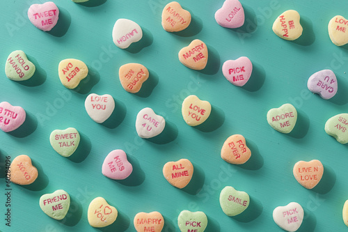 Candy Conversation Hearts for Valentine's Day - 60284096