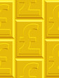 Gold pound sterling pattern