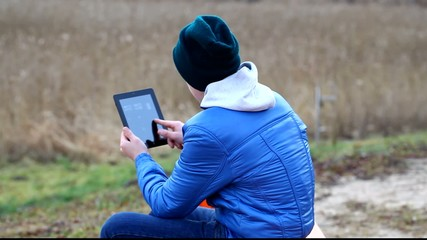 Teen with tablet PC episode 4