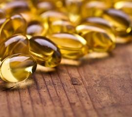 Cod liver oil omega 3 gel capsules