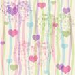 Seamless valentine pastel grunge pattern