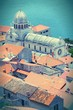 Sibenik, Croatia - cross processed color tone