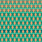 Boho style pattern of geometric shapes.