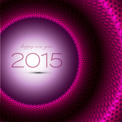 Abstract celebration background. Happy new year 2015