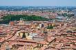 Panoramic view of Bologna. Emilia-Romagna. Italy.