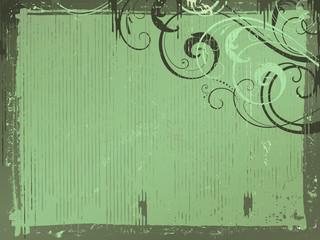 green_vintage_background