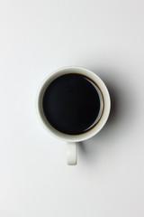 Kaffeetasse mit schwarzem Kaffee