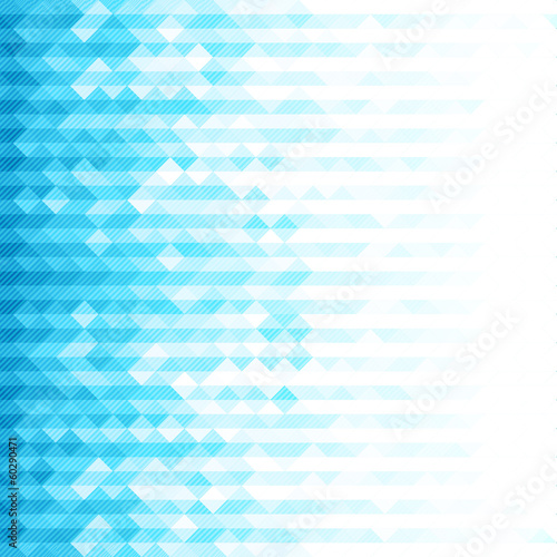 Abstract minimal background with blue pixel design.