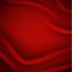 Smooth red silky background