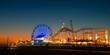 Leinwandbild Motiv Santa Monica Pier