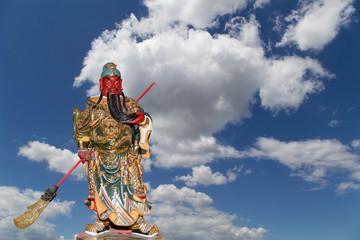 Dharmapala (protector of dharma), Buddhist temple in Beijing