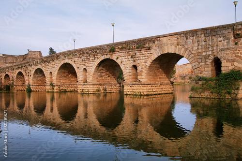 Roman bridge in Merida