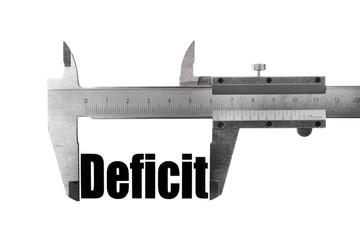 Deficit size