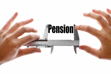 The size of our pension