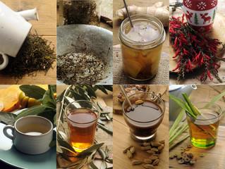 Herbal tea Травяной чай Tisane 허브차
