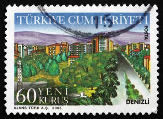 Postage stamp Turkey 2005 Denizli, Province