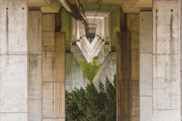 Motorway Bridge abstract