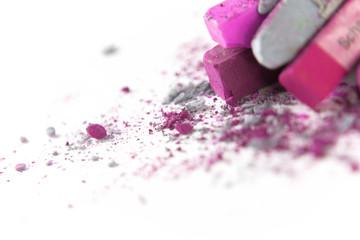 Pastellkreide pink grau 3
