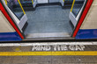 London underground sign, mind tha gap - 60295011