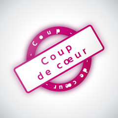 Coup de Coeur - Illustration vectorielle
