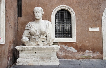 the Soprintendenza BSAE entrance, Rome