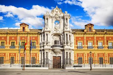 San Telmo palace in Sevilla, Spain. Built in 1682.