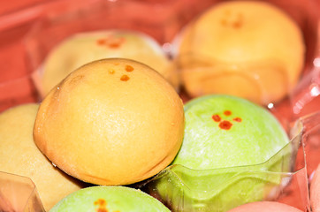 Japanese rice dessert