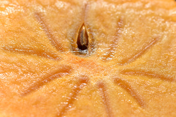 Close up image of persimmon