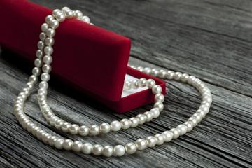 Romantic gift  into jewelry box.  Valentine's day