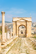 The Northern Tetrapylon in Jerash, Jordan.