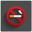 No smoking sign. No smoke icon. Stop smoking. - 60308410