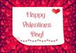 Happy Valentines Day Postcard