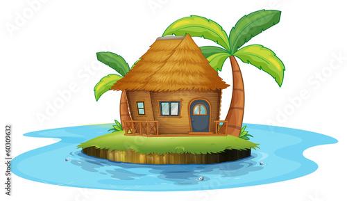 Nipa Hut Cartoon a Small Nipa Hut Quot Stock