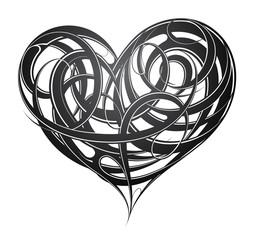 Heart shape original decoration