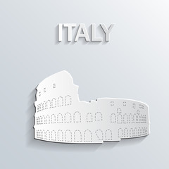Landmark paper symbol