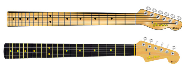 Single Coil Guitar Necks