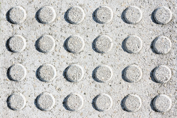 circular textures on granite floor