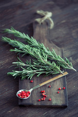 rosemary with red pepper